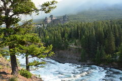 Niespodzianka narożnikowy Banff Kanada obrazy royalty free