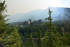 Niespodzianka narożnikowy Banff Kanada Fotografia Royalty Free