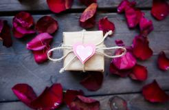 niespodzianka, romantyczna obrazy stock