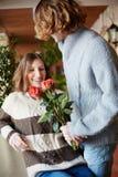 niespodzianka, romantyczna zdjęcie royalty free