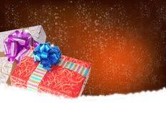 Niespodzianka w nowego roku wakacje zdjęcia stock