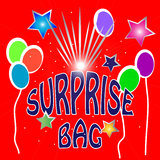 Niespodzianki torby ilustracja Fotografia Stock