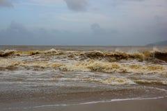 Niespokojni morza Wietnam Obrazy Stock