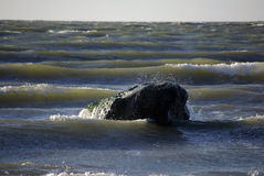niespokojny morza Zdjęcia Stock