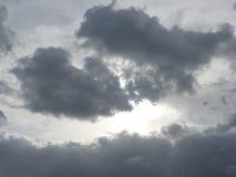 Niespokojny niebo obraz royalty free