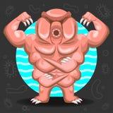Niesporczak wody niedźwiedzia ilustracja Obrazy Royalty Free
