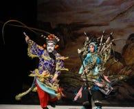 """Niesprawiedliwi pojedynku Pekin Opera"""" kobiet generałowie Yang Family† Zdjęcia Royalty Free"""
