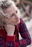 nieszczęśliwa kobieta Zdjęcie Royalty Free
