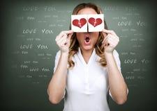 Nieszczęśliwa miłość zdjęcia stock