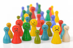 nieszczęśliwy Obraz Stock