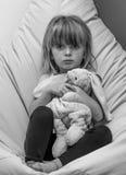 nieszczęśliwy dziecka Fotografia Stock