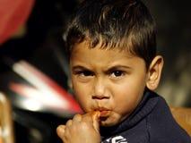 Nieszczęśliwy Dzieciak Obraz Stock