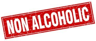 niet alcoholische zegel stock illustratie