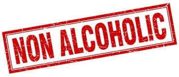 niet alcoholische zegel royalty-vrije illustratie