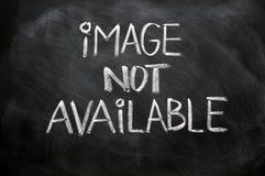 Niet beschikbaar beeld royalty-vrije stock afbeeldingen