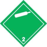 Niet brandbaar niet giftig gas Royalty-vrije Stock Foto's