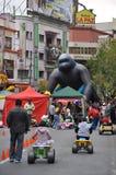 Niet geïdentificeerde kinderen op vakantie in de stad van La Paz Royalty-vrije Stock Afbeelding