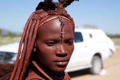 Niet geïdentificeerde vrouw Himba Royalty-vrije Stock Afbeelding