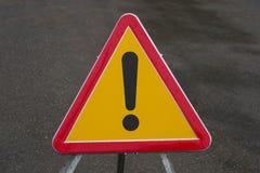 Niet gedefiniëerd verkeerslichtgevaar Royalty-vrije Stock Afbeelding