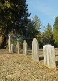 Niet gemarkeerde Graven Stock Fotografie