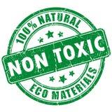 Niet giftig product royalty-vrije illustratie