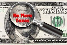Niet meer Belastingen stock foto's