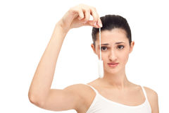 Niet opnieuw menstruatie, concept Royalty-vrije Stock Fotografie