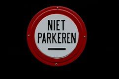 Niet Parkeren Image libre de droits