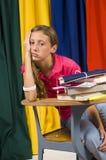 Niet School! Stock Fotografie