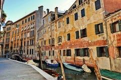 Niet zo mooi Venetië Royalty-vrije Stock Foto's