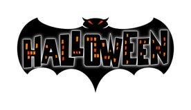 nietoperz Halloween. Obraz Royalty Free
