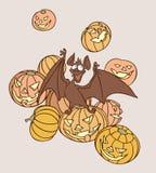nietoperz Halloween Zdjęcie Royalty Free