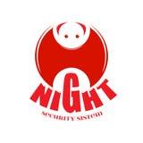 Nietoperza logo dla twój firmy Zdjęcie Royalty Free