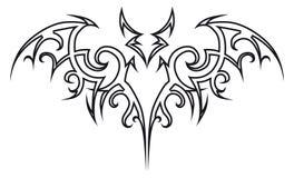 nietoperza tatuaż Zdjęcie Royalty Free