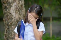 Nieudany dziecko dziewczyny uczeń fotografia royalty free