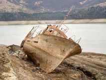 Nieudany statek Fotografia Royalty Free