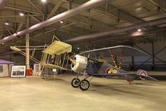 Nieuport-17 y Mauricio Farman Fotografía de archivo