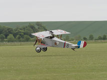 Nieuport 17 Biplane Royalty Free Stock Images