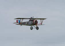 Nieuport 17 Biplane Stock Photography