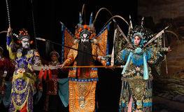 """Nieustraszenie żeńscy generałów Pekin Opera"""" kobiet generałowie Yang Family† Zdjęcie Stock"""