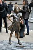 Nieustraszenie dziewczyna obraz royalty free