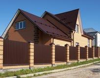 Nieuw baksteenhuis Royalty-vrije Stock Fotografie