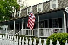 Nieuw Bern, NC: 1760 Hawk House Stock Afbeeldingen
