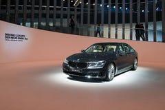 Nieuw BMW 7 Reeksen - wereldpremière Royalty-vrije Stock Fotografie
