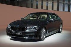 Nieuw BMW 7 Reeksen - wereldpremière Stock Afbeelding