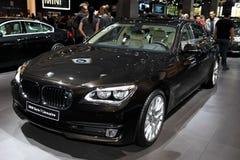 Nieuw BMW Serie 7 Limousine Stock Foto's