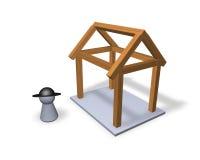 Nieuw bouw Royalty-vrije Illustratie