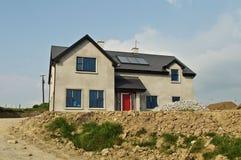 Nieuw bouw concreet huis Stock Fotografie
