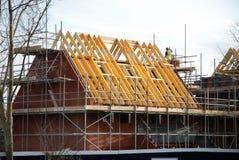 Nieuw bouw huis royalty-vrije stock afbeeldingen