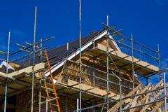 Nieuw bouw Huis Royalty-vrije Stock Foto's